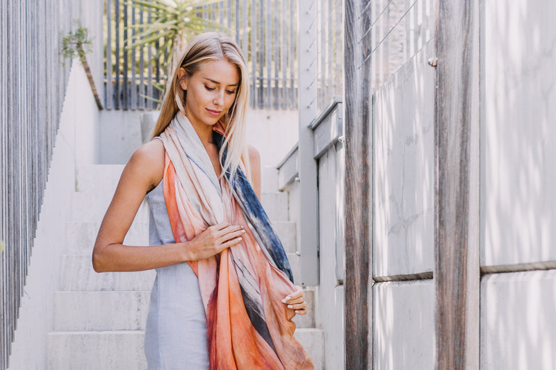Sunset Love Scarf Yallingup Lagoon, The Tide and The Moon Collective