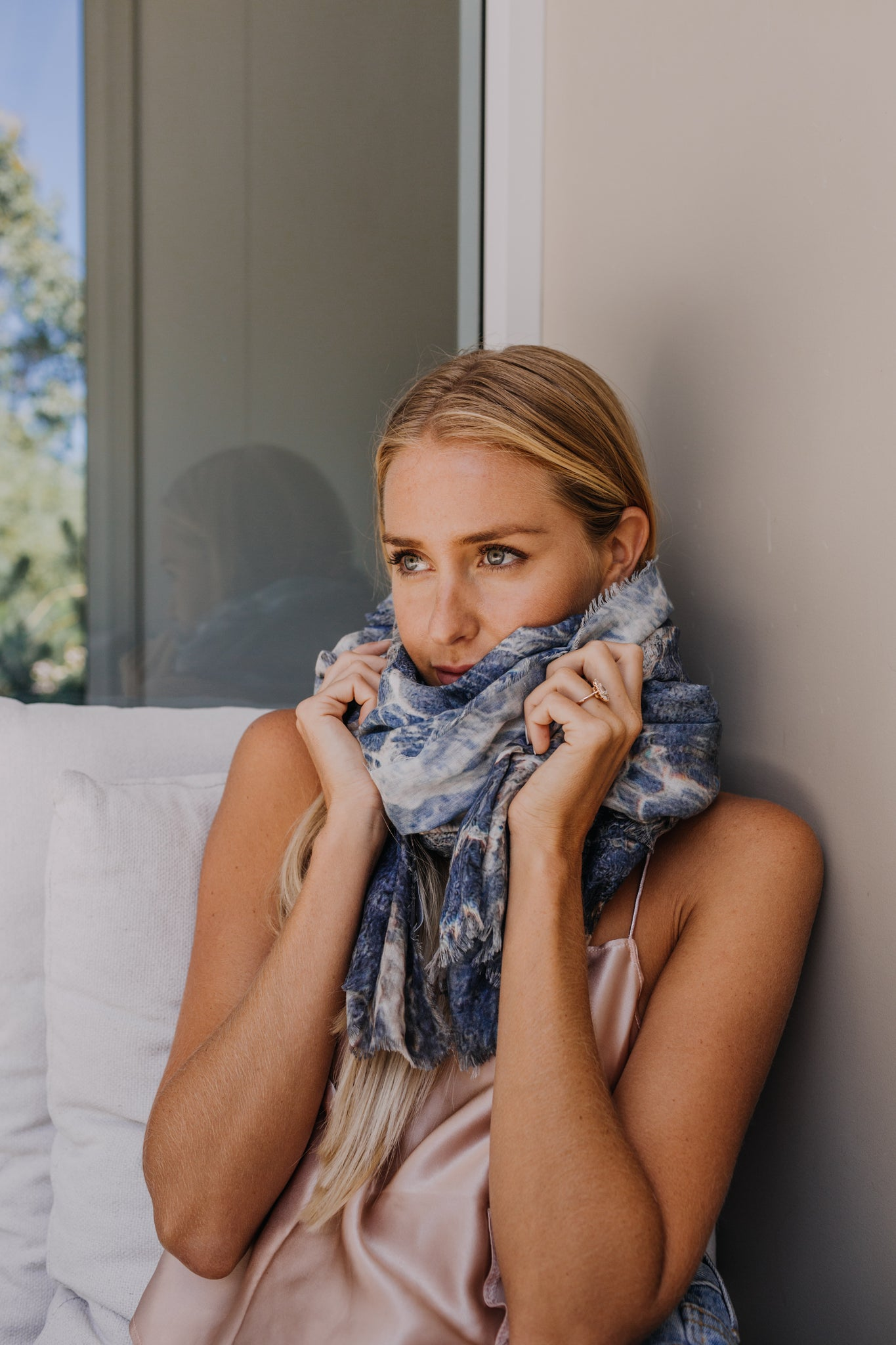 Blue Waters Scarf - SOLD OUT