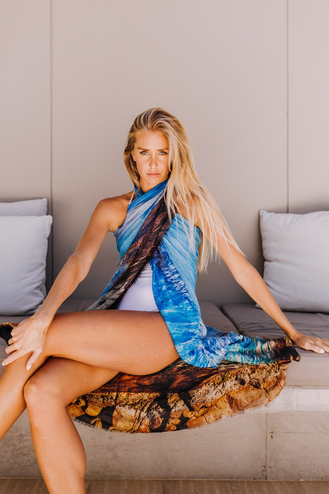 Fish Swim Scarf  - SOLD OUT