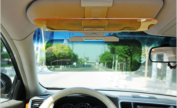HD Car Visor Day and Night Driving Vision Anti-Glare Blocker. BEST SELLER! d470e80dd52