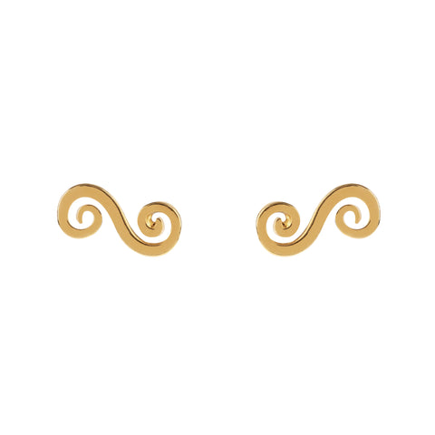 Single Swirl Studs
