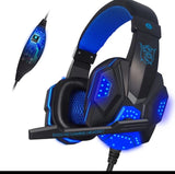 Singhtech Hot! Singhtech PC780 Deep Bass Gaming Headset Headphone With Mic For PC Luminous Headphones