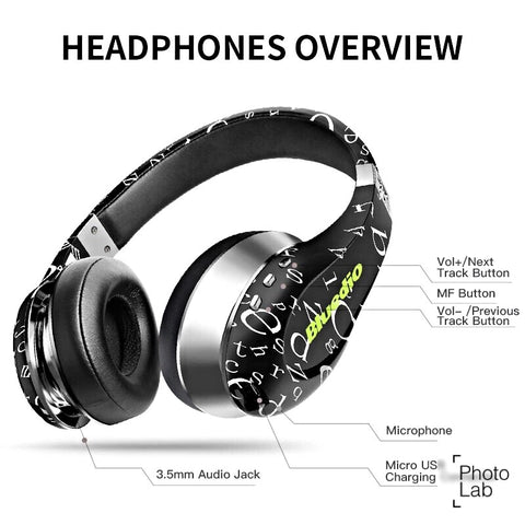 Bluedio High Quality Authentic Bluetooth Wireless MP3 HIFI Aucustic Headphones
