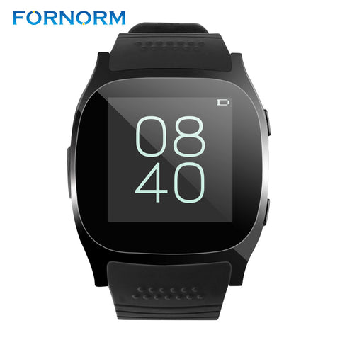Insecure heart rate monitor T8 Bluetooth Smart Watch With Camera Music Player Facebook WhatSinghtech watch Support SIM TF Card For Android