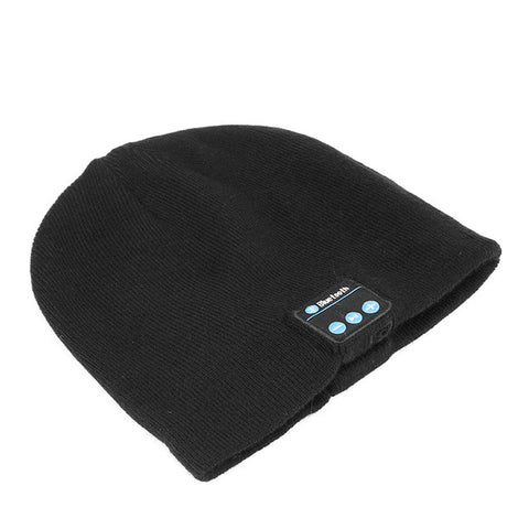 FORNORM Wireless Bluetooth 4.1 Warm Hat Music Smart Headphone Built-in Mic Headset Speaker Warm Winter Knitting Hat Knit Cap