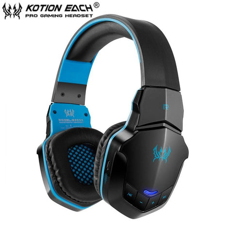 Singhtech EACH B3505 Wireless Bluetooth 4.1 Stereo Gaming Headphone Headset Support NFC Mic Suitable For Phone Computer Voice