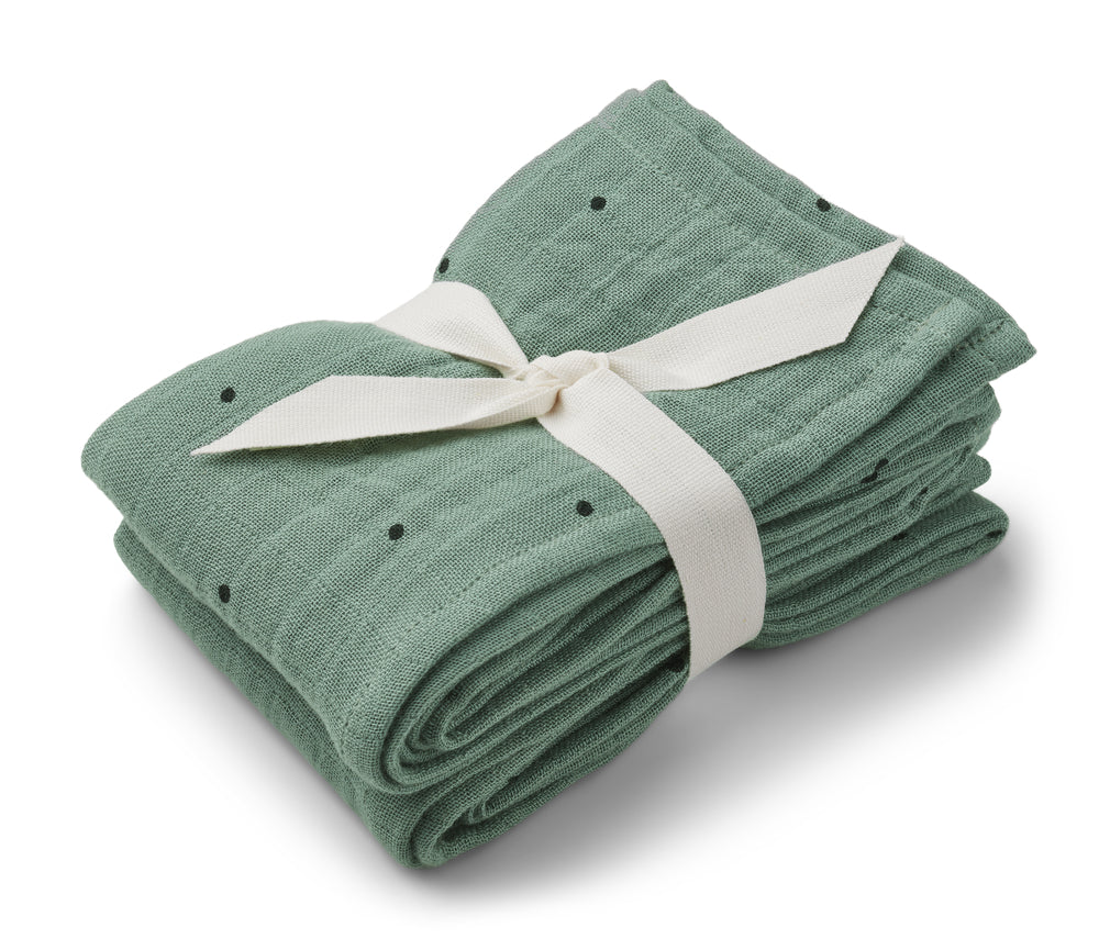 Liewood Lewis Muslin Cloth - Peppermint