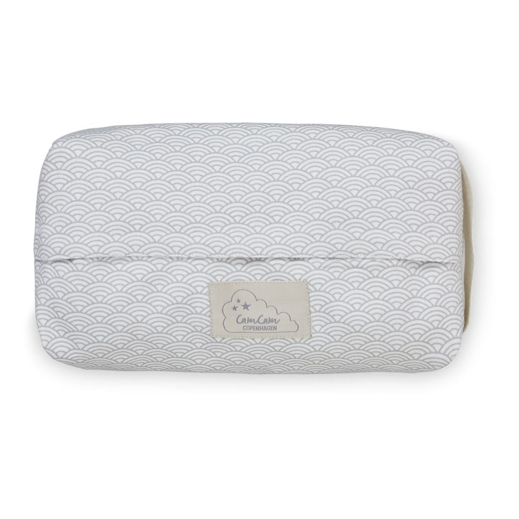 Cam Cam Wet Wipe Cover - Grey Wave