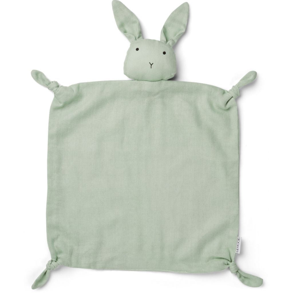 Liewood Agnete Cuddle Cloth - Rabbit Dusty Mint