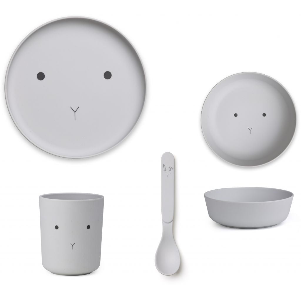 Liewood Tableware Set - Rabbit
