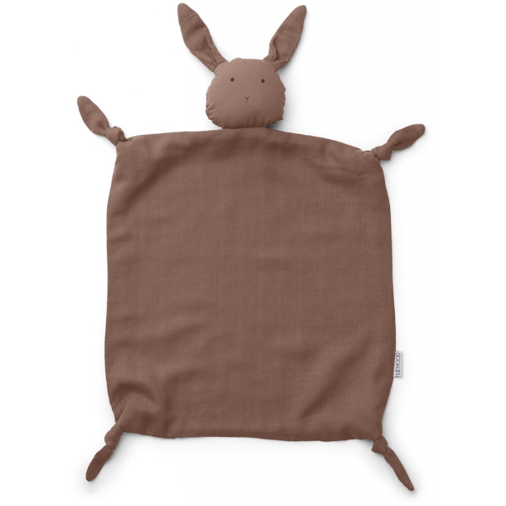 Liewood Agnete Cuddle Cloth - Rabbit Dark Rose