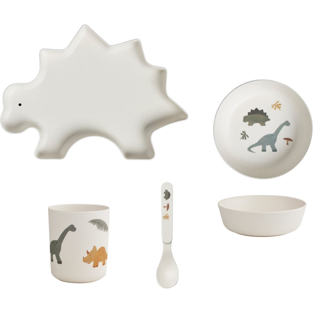 Liewood Tableware Set - Dinosaur