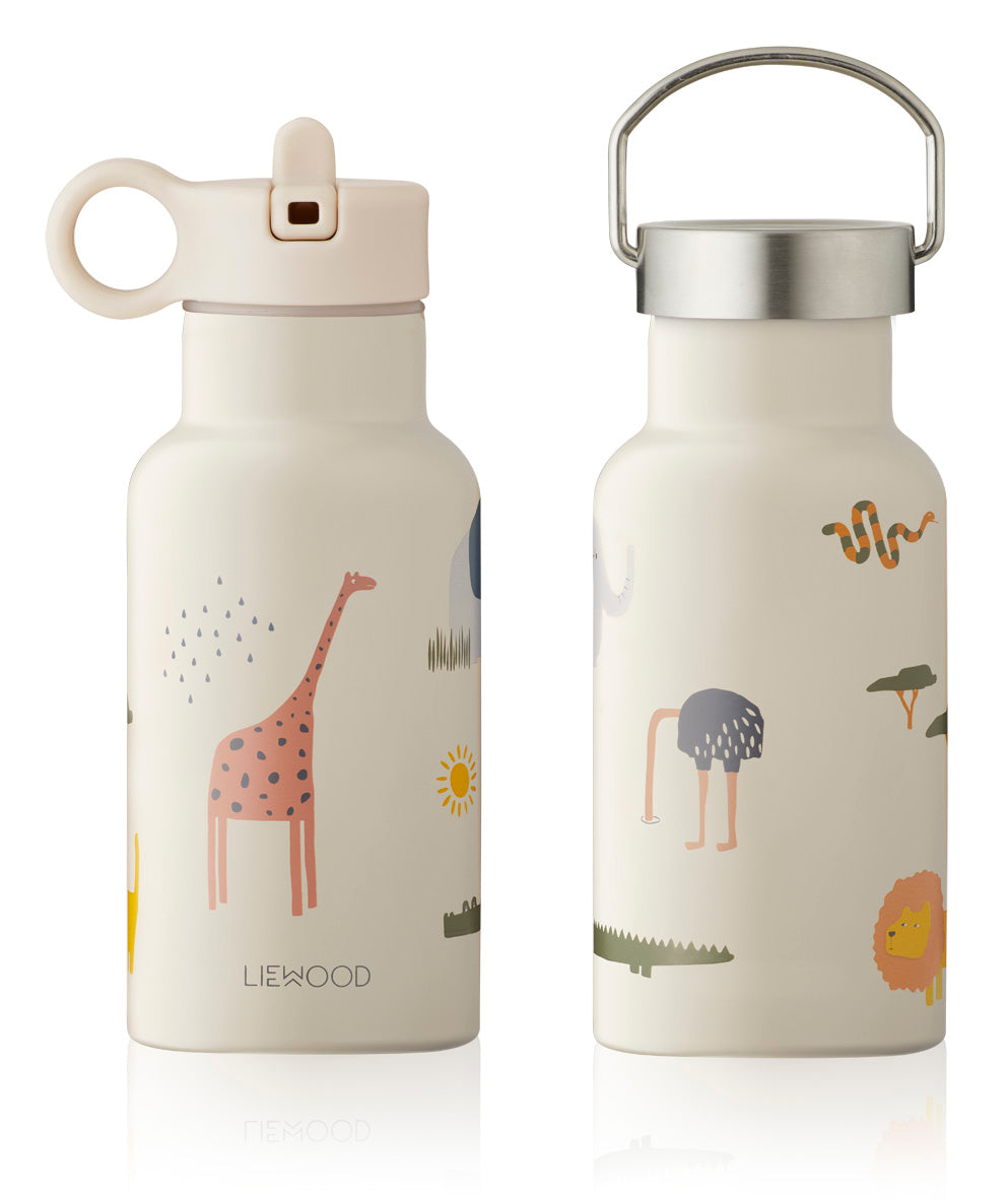 Liewood Anker Water Bottle - Safari