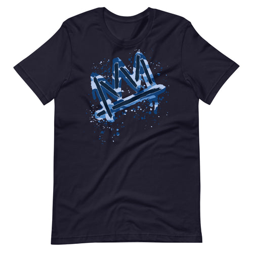 Blue Camo Crown T-Shirt