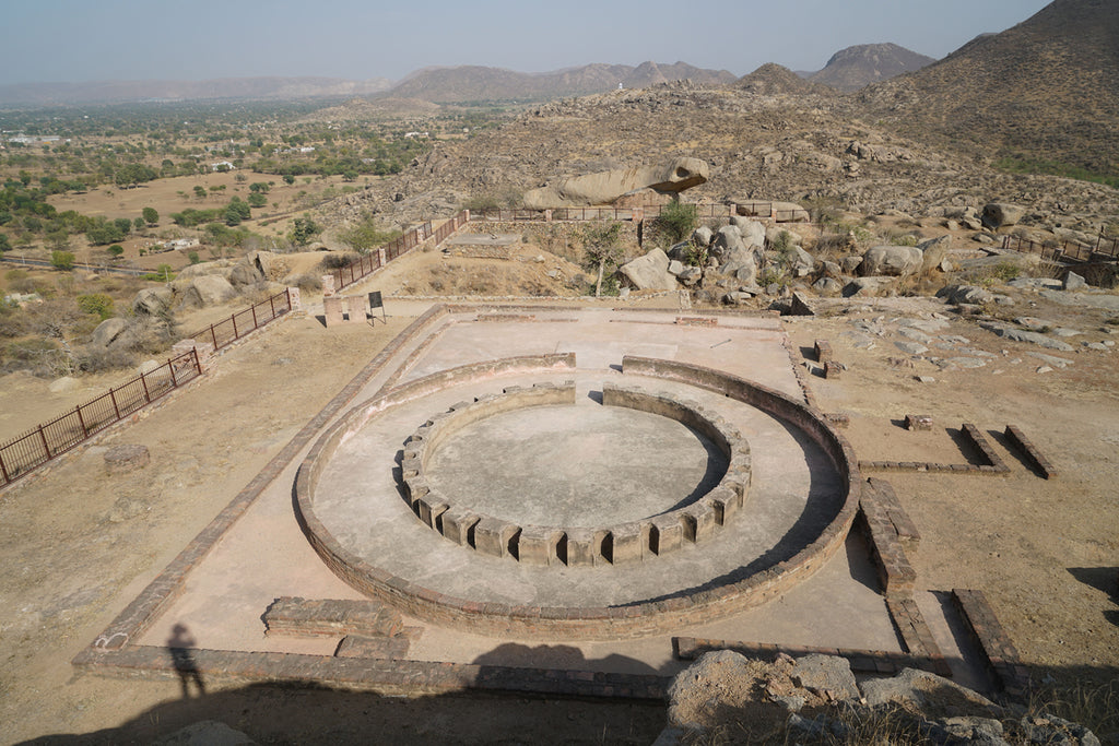Buddhist Ruins in Rajasthan