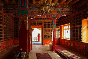 Buddha Statues in Ladakh - Lamayuru and Attetse Monasteries