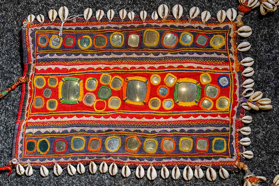 Desert Flowers - the Embroidered Textiles of Rajasthan & Gujarat.