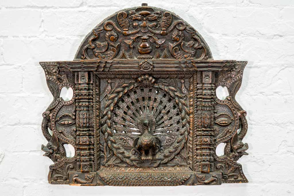 Wall Art - Unique Wooden Sculpture from India