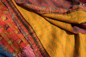 Kantha Scarves - the most popular items in our shop!