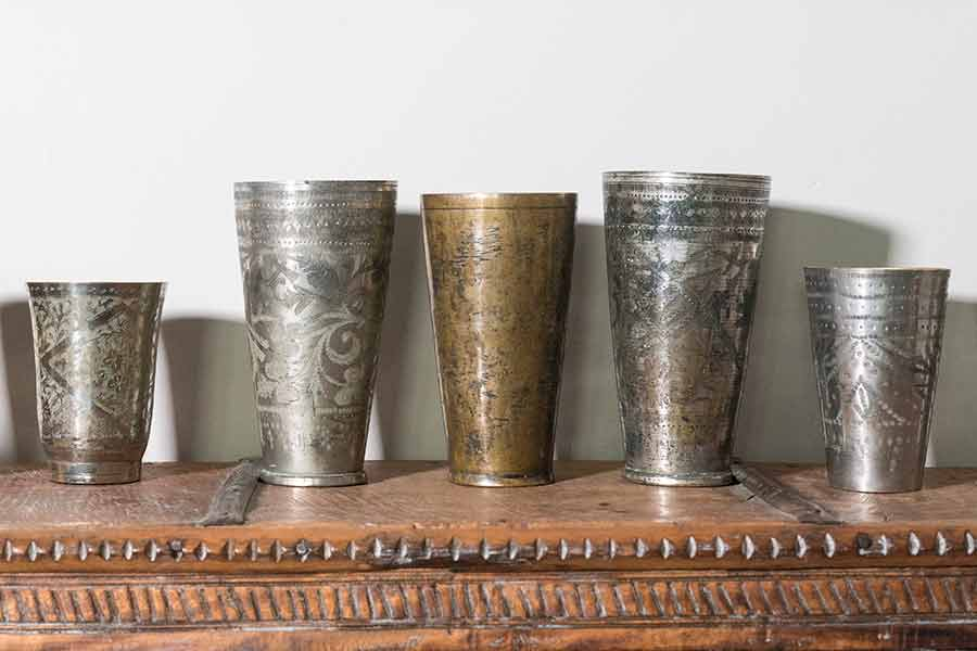 Ignored, neglected and beautiful - Vintage Lassi glasses from India