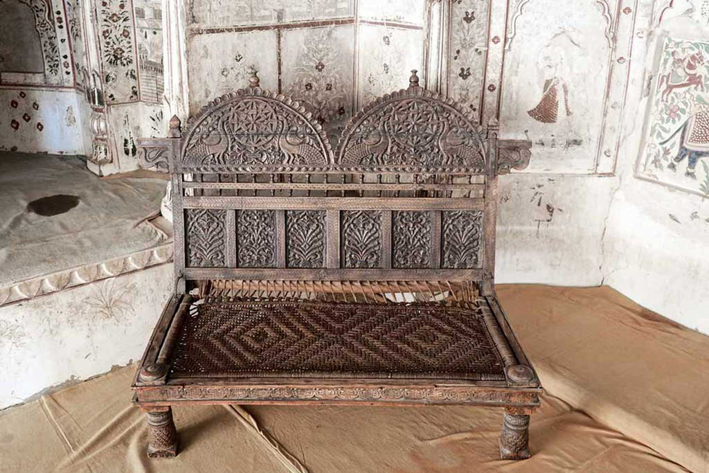 Indian Furniture - Carved Wooden Designs