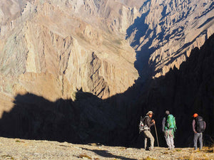 Trekking in Ladakh, over the Timti La to Kanji