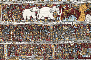 Kalamkari Temple Paintings from South India