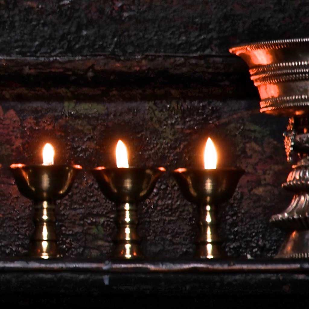 Butter Lamps and Oil Lamps