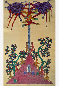 Indian Art - Gond Tribal Paintings