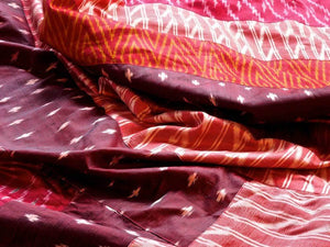 Red Silks from India
