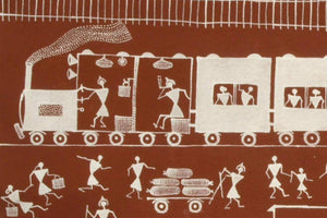 Warli Tribal Painting