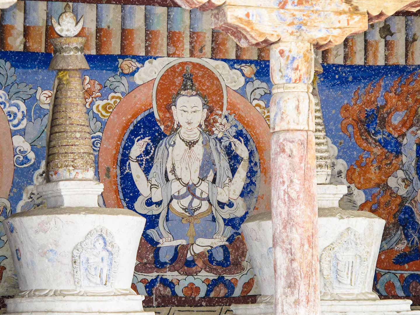 Buddhist Shrine, Leh
