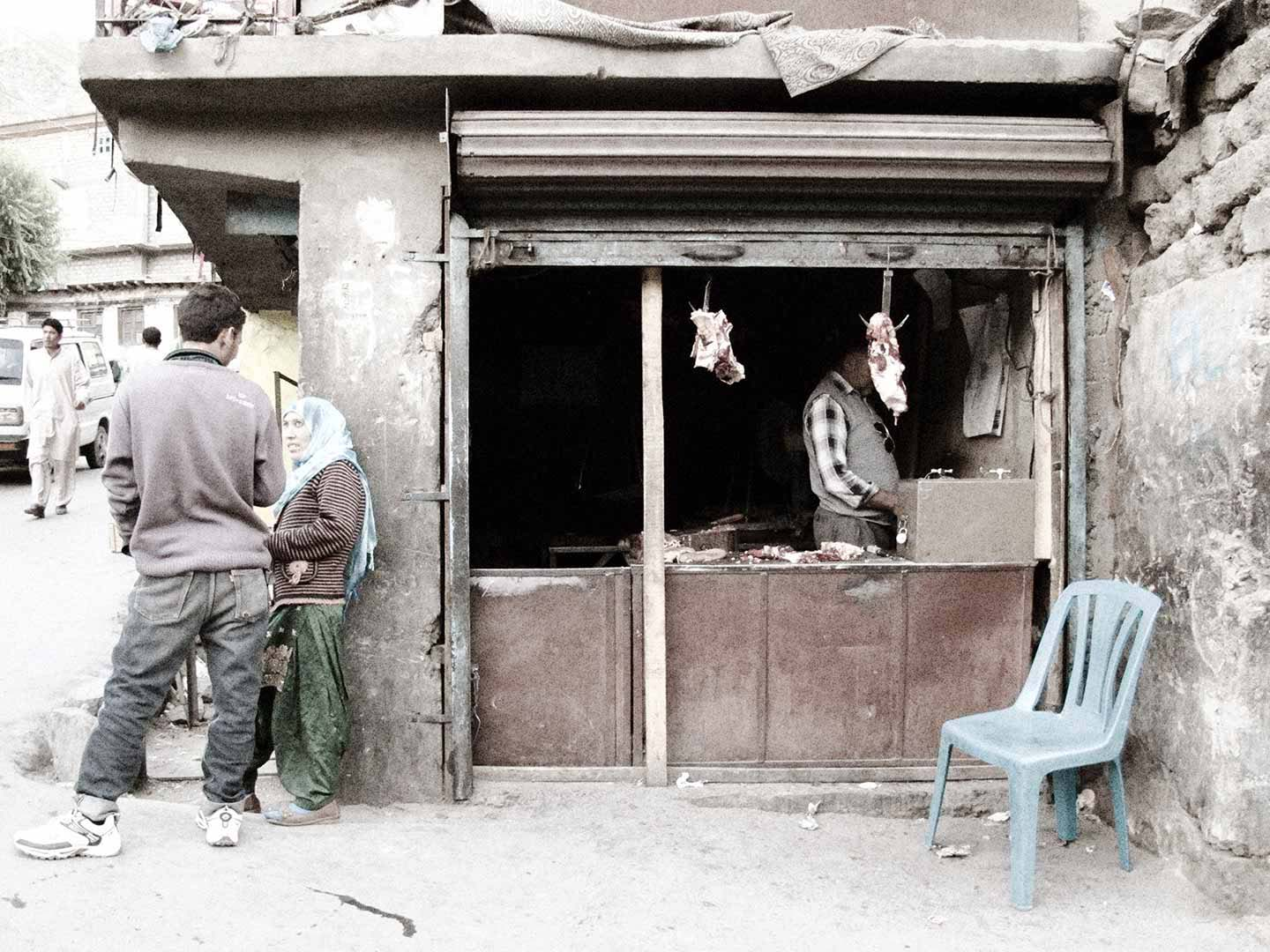 Butcher's shop, Kargil