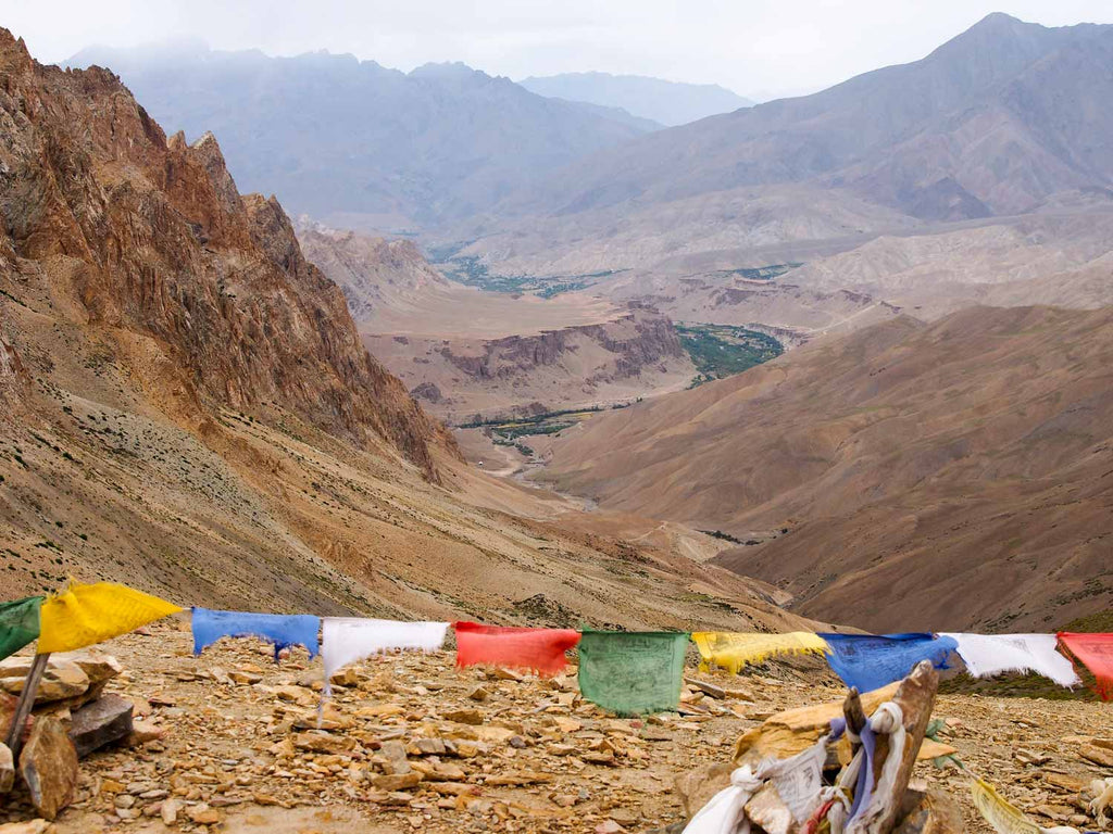 Trekking in Ladakh from Gyal to Kanji, the Sarbantan La