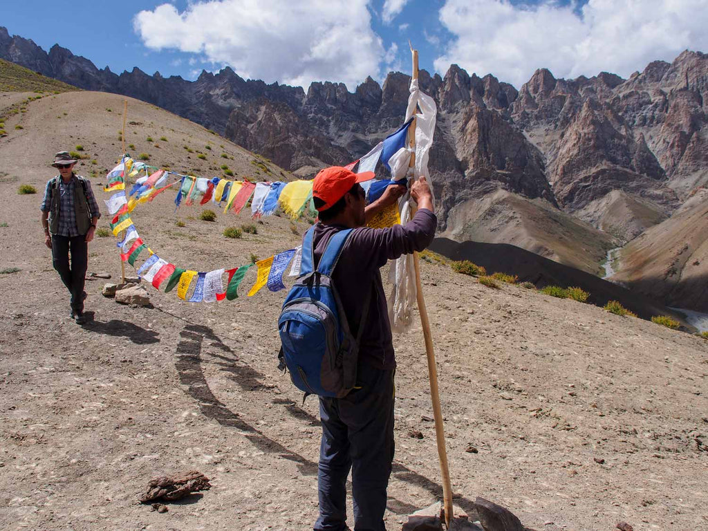 Trekking in Ladakh from Gyal to Kanji, Yoma La