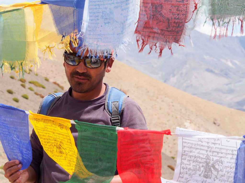 Trekking in Ladakh from Gyal to Kanji, Stanzin on the Yoma La