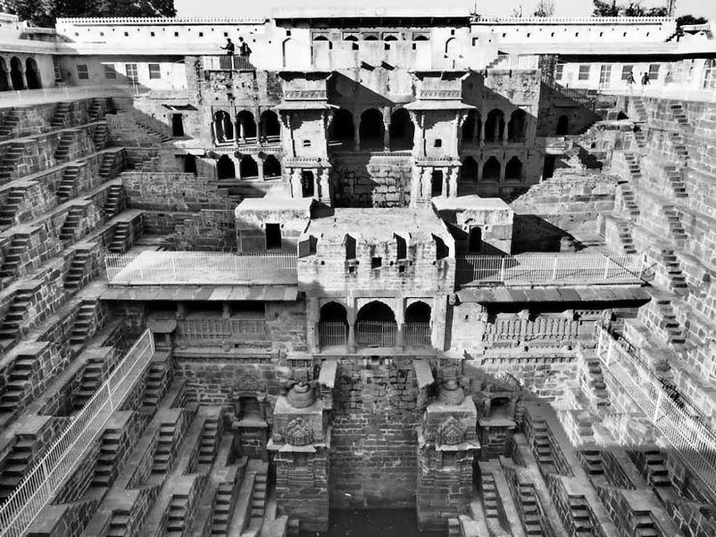 Abhaneri Stepwell in Rajasthan