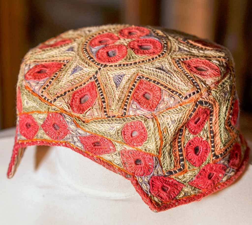 Embroidered Hat from Afghanistan