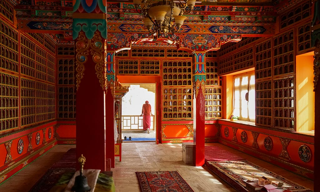 Tara Shrine Room, Attetse Monastery, Ladakh