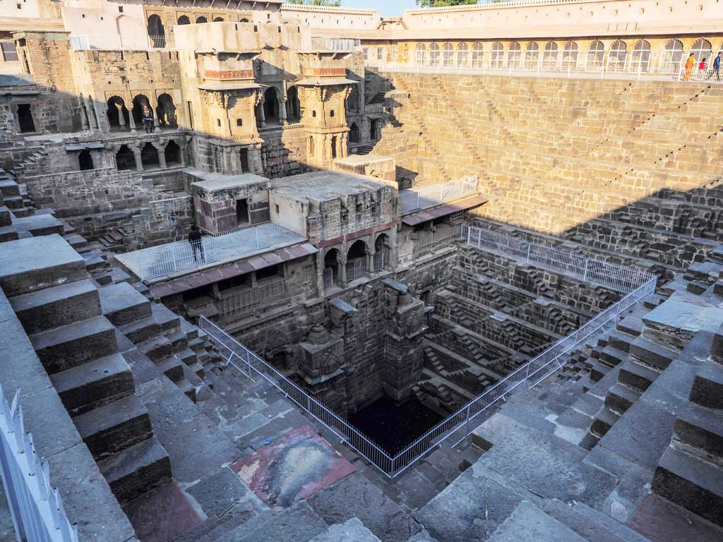 Overview of Chand-Baori-at-Abhaneri