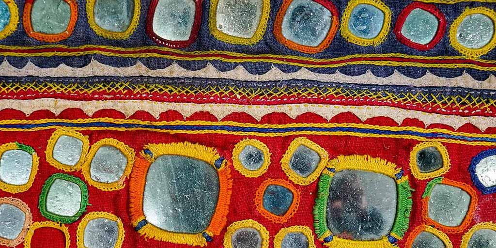 Embroidery from Gujarat