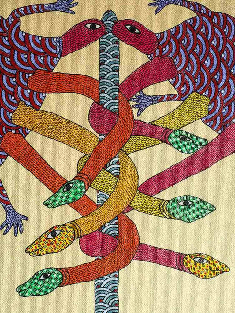 Gond Mystical Tree