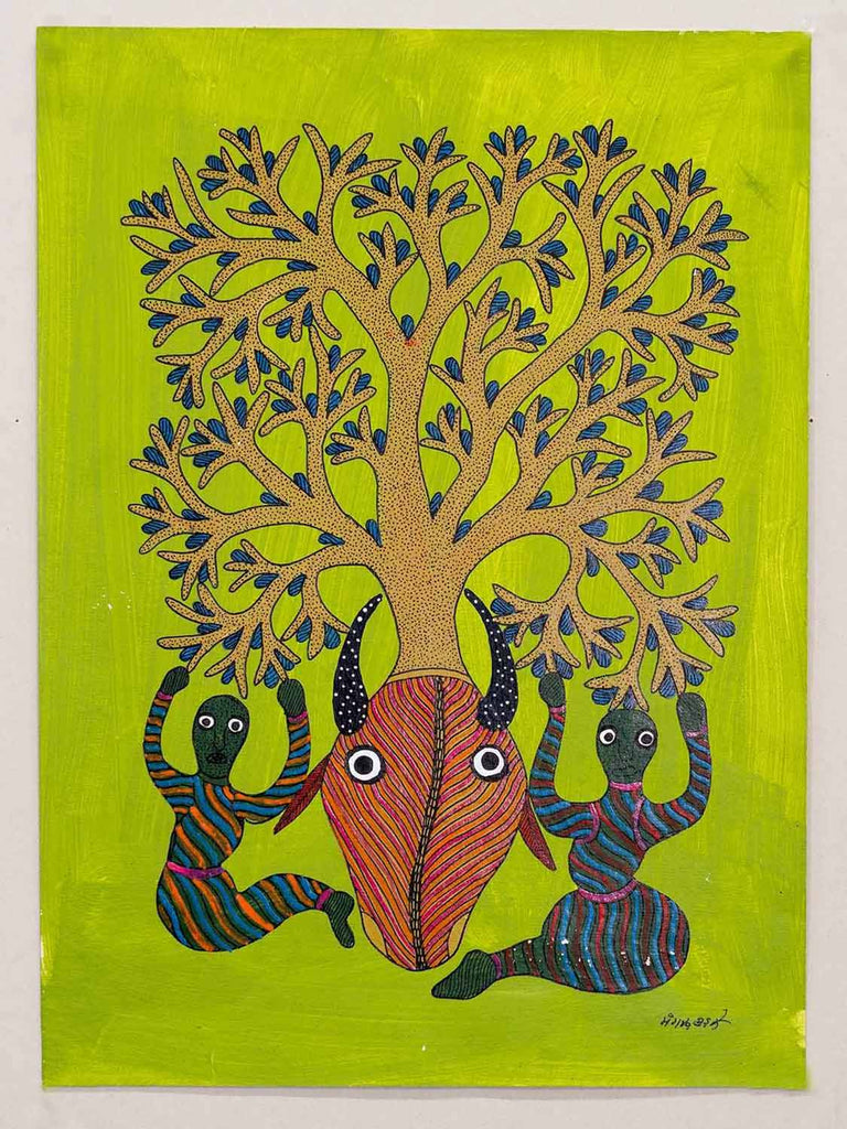 Gond Women and Snake