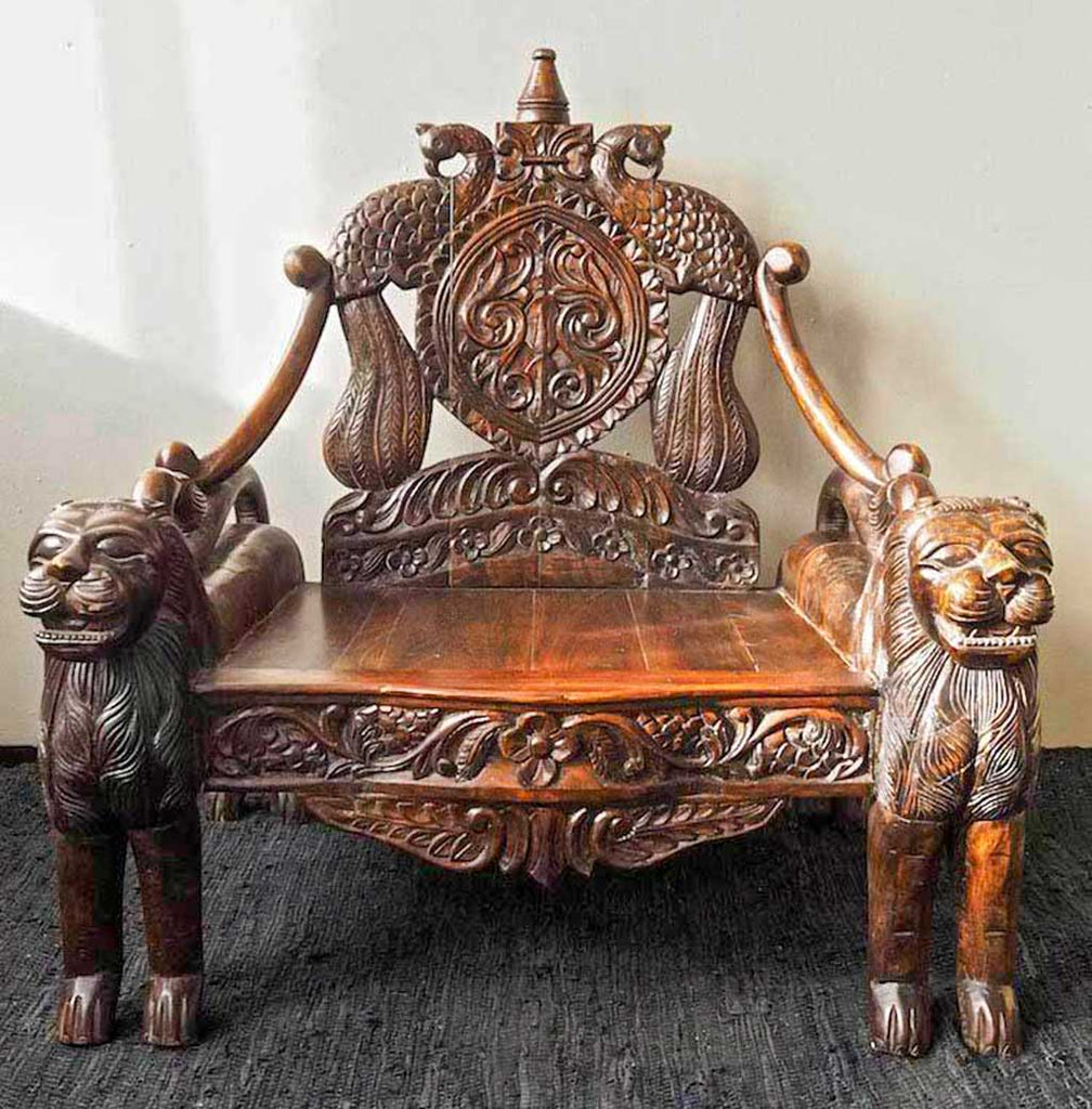 Lion throne