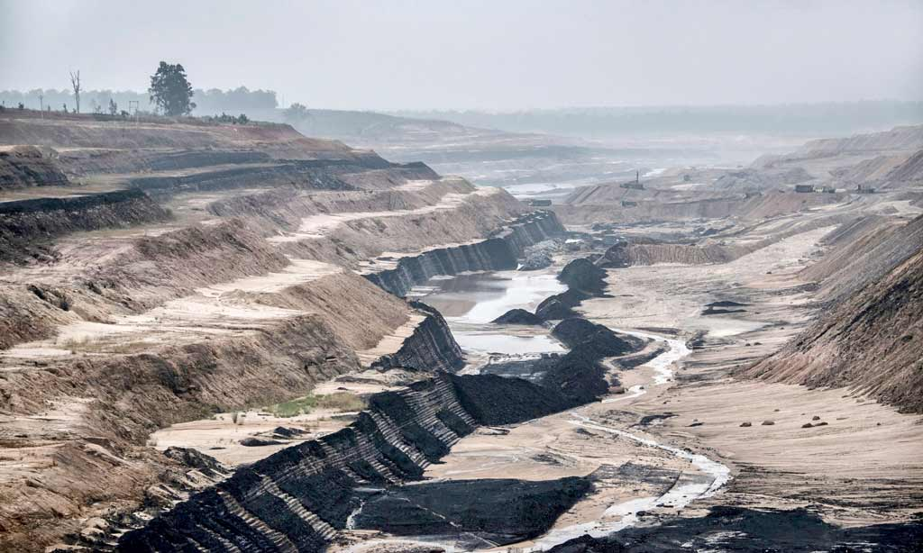 Open cast coal mining & the desrtuction of forests in central India