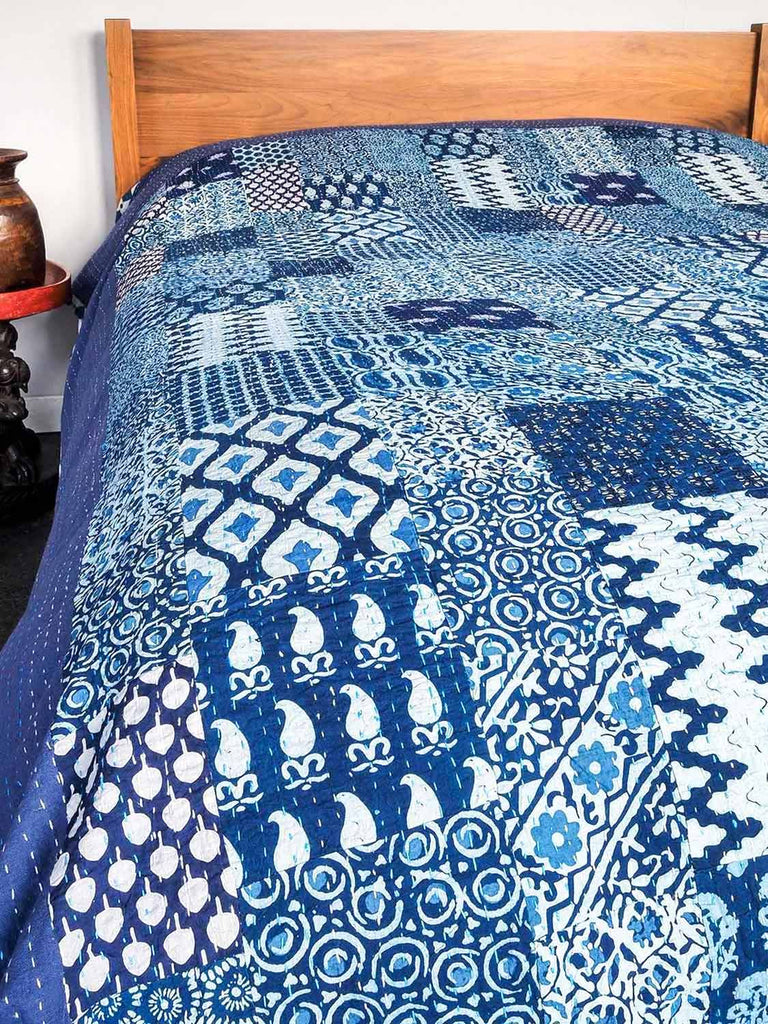 Indiago Patch Bedspread