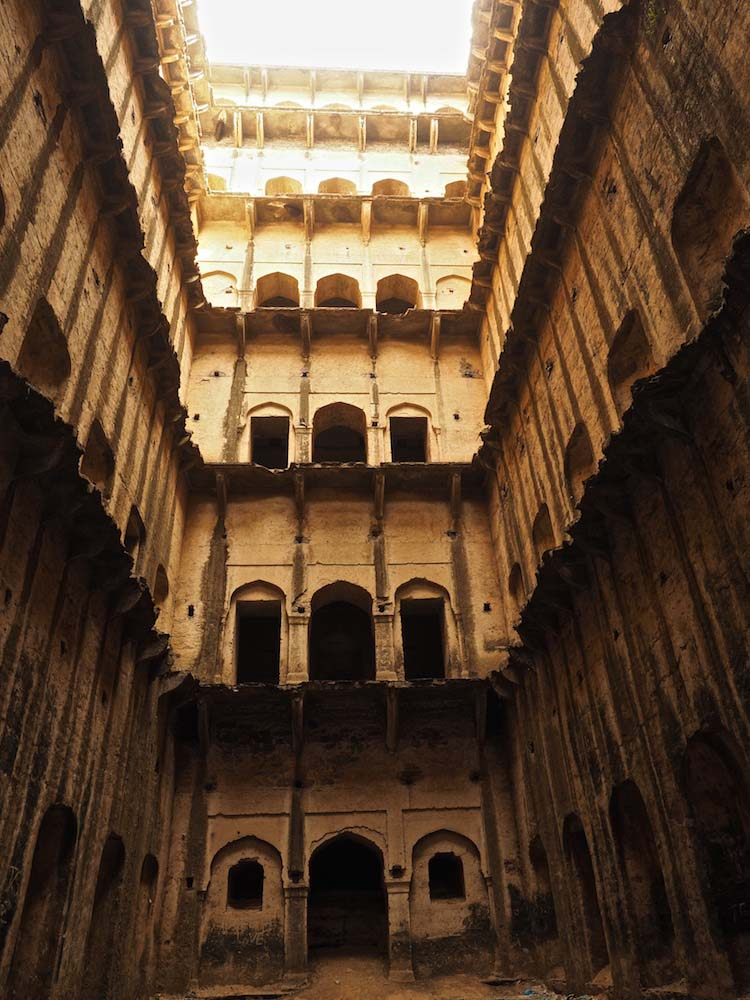 Stepwell at Neemrana