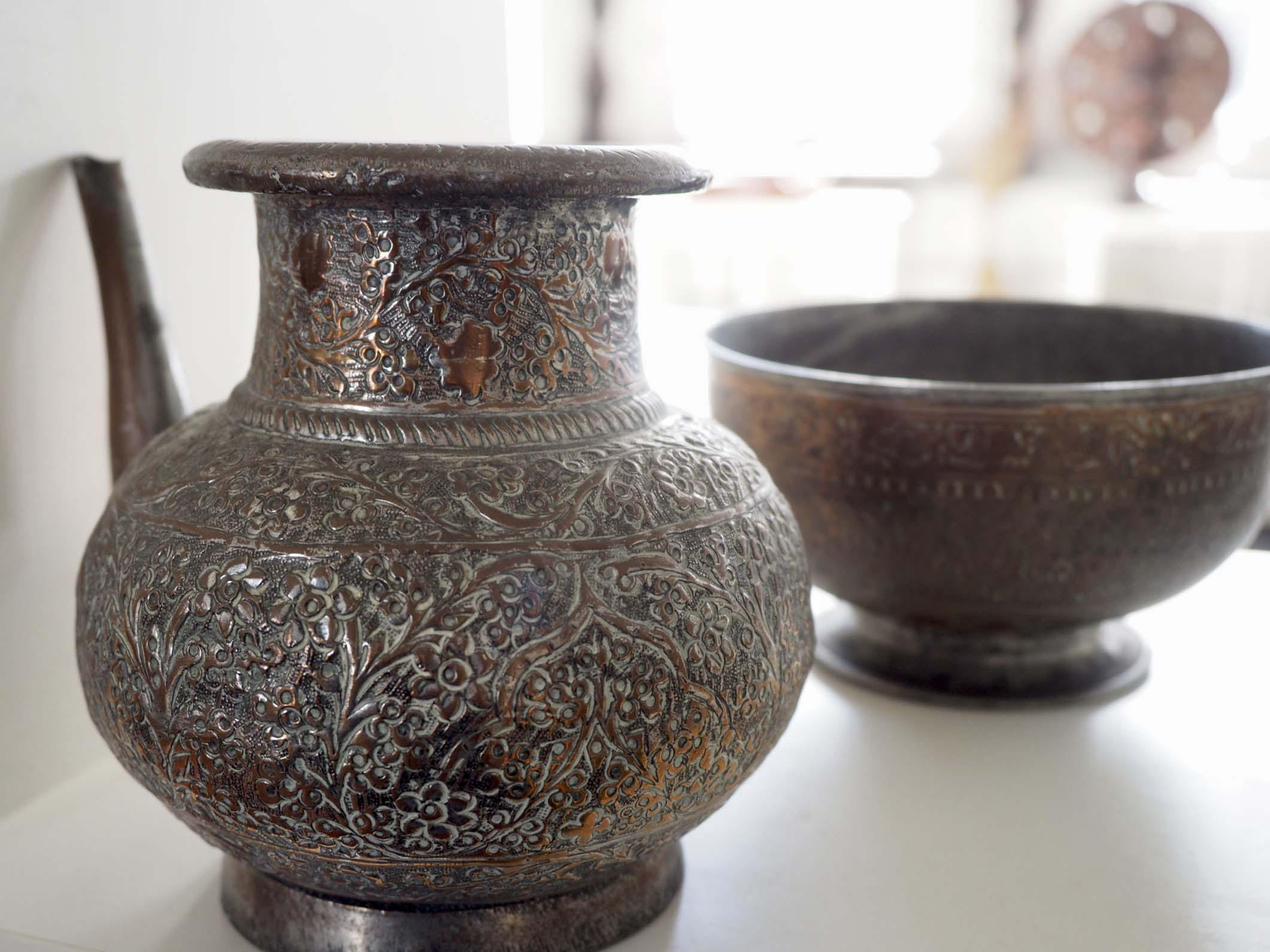 copper kettle from Afghanistan
