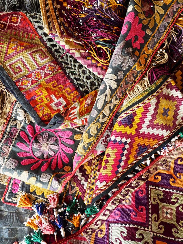 Afghan embroideries