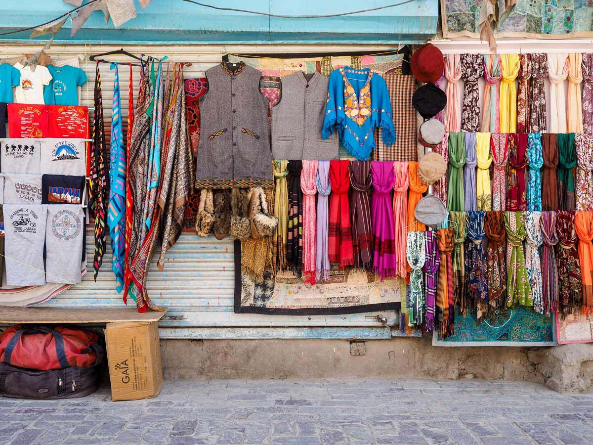 Shopping In Leh, Ladakh